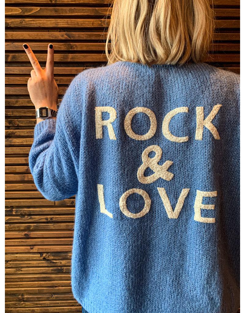 ROCK & LOVE BERNADETTE - BLAUW