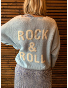 ROCK AND ROLL TRUI - BLAUW