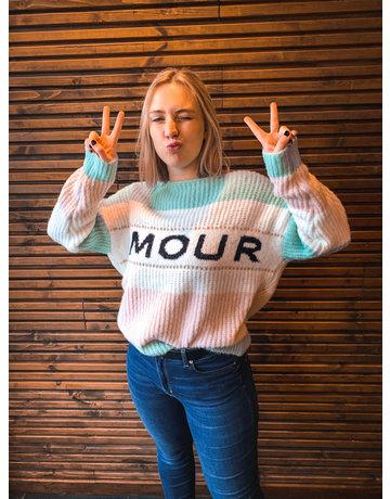 MON AMOUR GROEN - TRUI