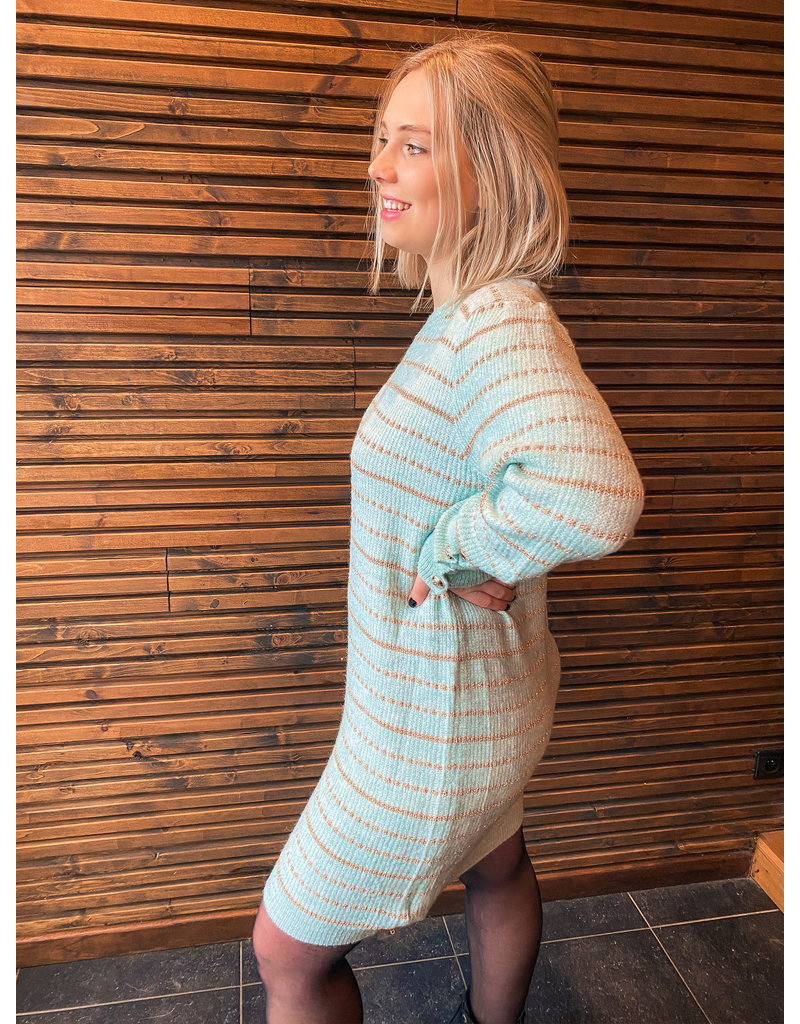 STRAIGHT OUTTA BED DRESS - GREEN