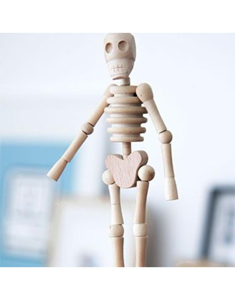 Kikkerland Lazy Bones Skeleton Pop Up - GG21