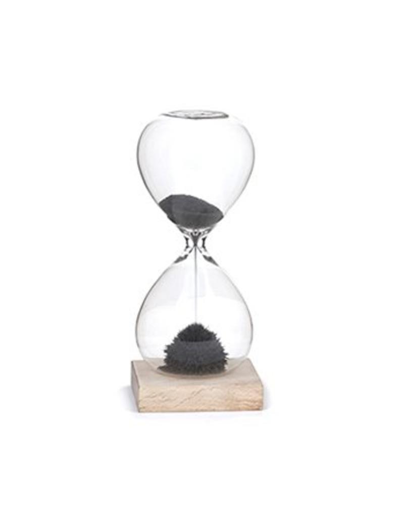 Kikkerland Hourglass Magnetic Sand - ST05