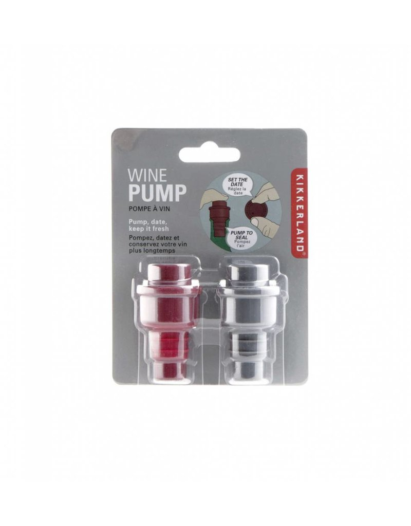 Kikkerland Wine Pumps Set Of 2 - BA26B-A