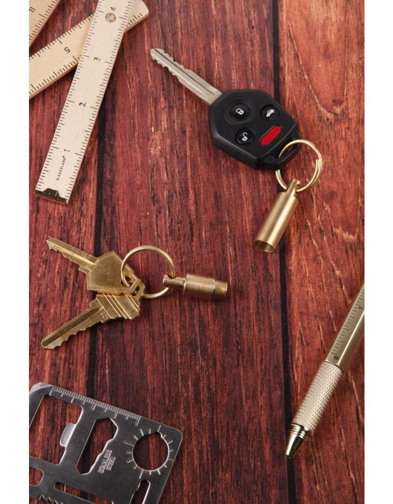 Kikkerland Everyday Carry Brass Keyrings - KR95-A