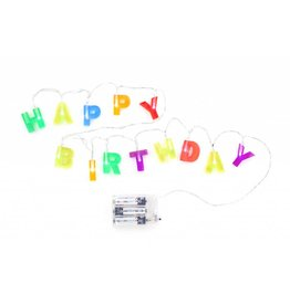 Kikkerland Happy Birthday Lights - LT01-EU