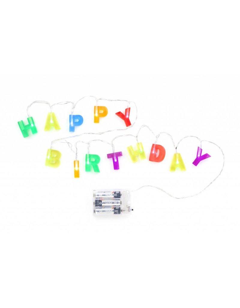 Kikkerland Happy Birthday Lights - LT01-EU