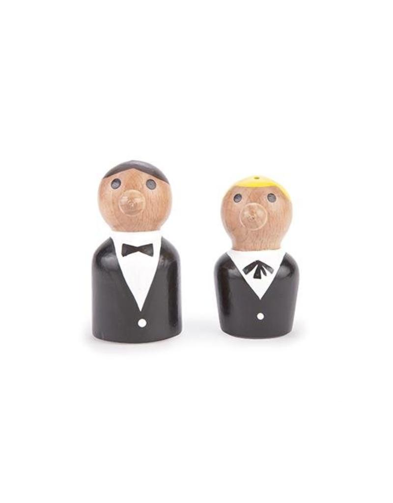Kikkerland At your Service Salt & Pepper - SP22