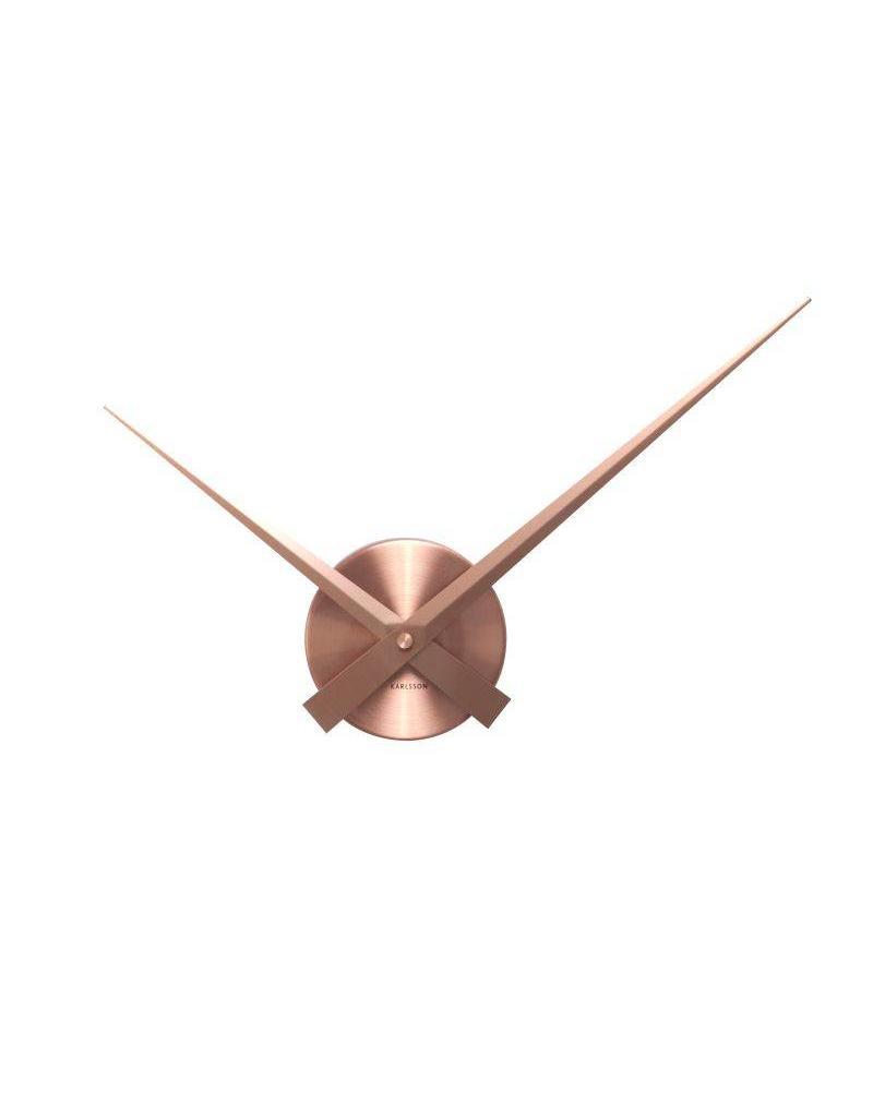Karlsson Wall Clock Little Big Time Mini Alu Copper - KA4348CO