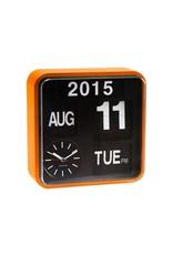 Wall Clock Mini Flip Orange Casing - KA5364OR