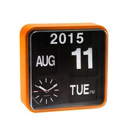 Karlsson Wall Clock Mini Flip Orange Casing - KA5364OR