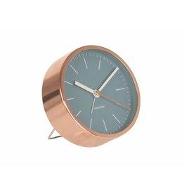 Karlsson Alarm Clock Minimal Jeans  - KA5536BL