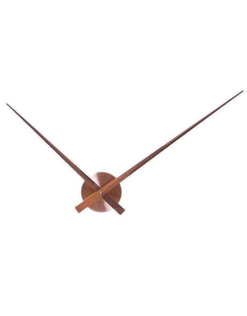 Karlsson Wall Clock Little Big Time Alu Copper - KA5516