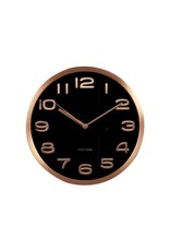Karlsson Wall Clock Maxi Copper Numbers - KA5578BK