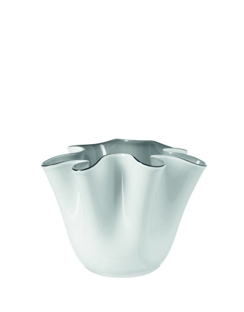 Leonardo Vase 14.5 White/Grey Lia - 025449