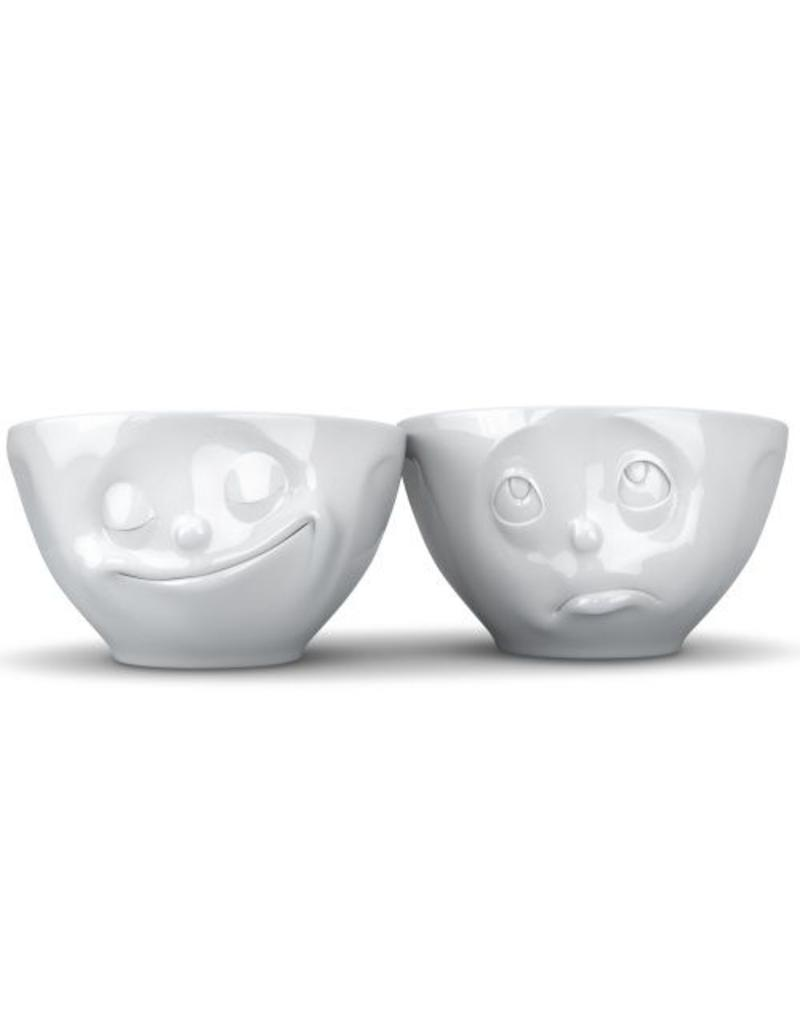 "Tassen Servies Medium Bowl Set ""Happy&Please"" - T01.23.01"