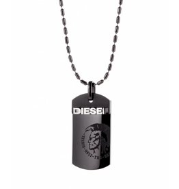 Diesel horloges Step up gun necklace - dx0004040