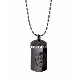 Diesel sieraden Step up gun necklace - dx0004040