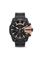 Diesel horloges Mega Chief Black Rosé - DZ4309