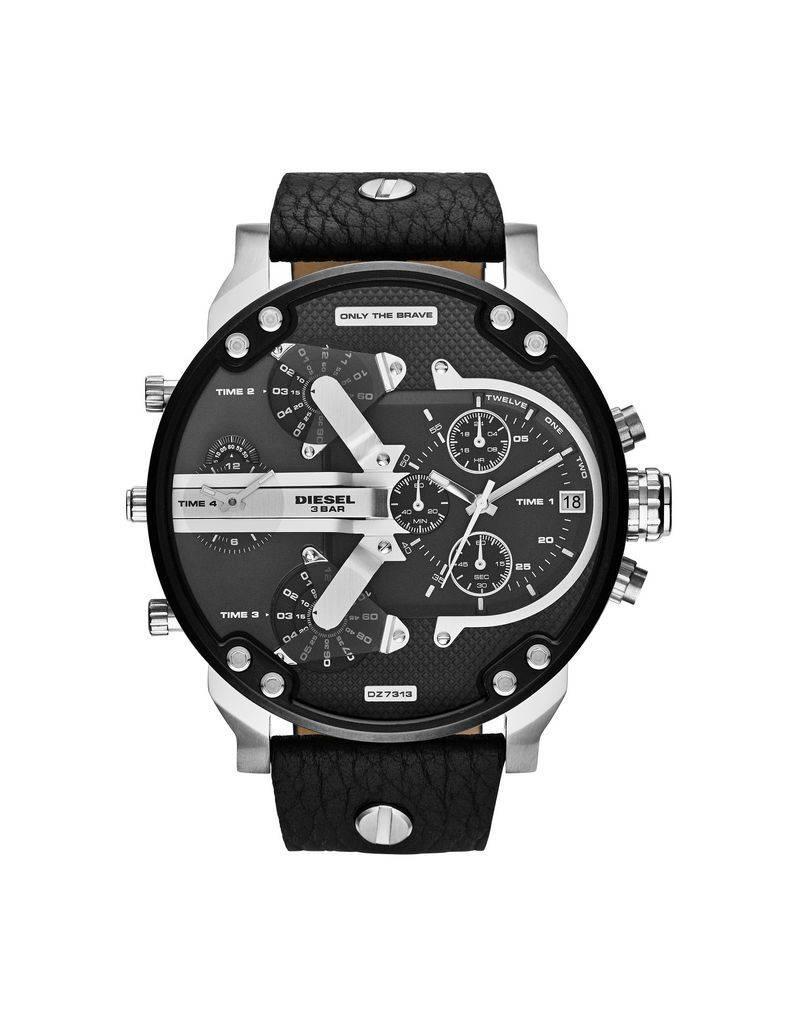 Diesel horloges Lg Rd Blk Blk St - DZ7313