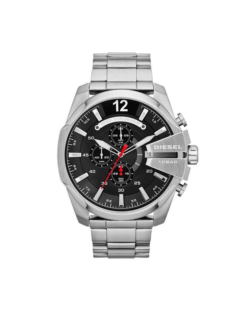 Diesel horloges Lg Rd Blk Sil Br - DZ4308