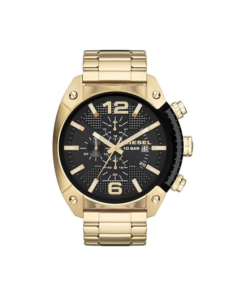 Diesel horloges Lg Rd Blk Gld Br - DZ4342