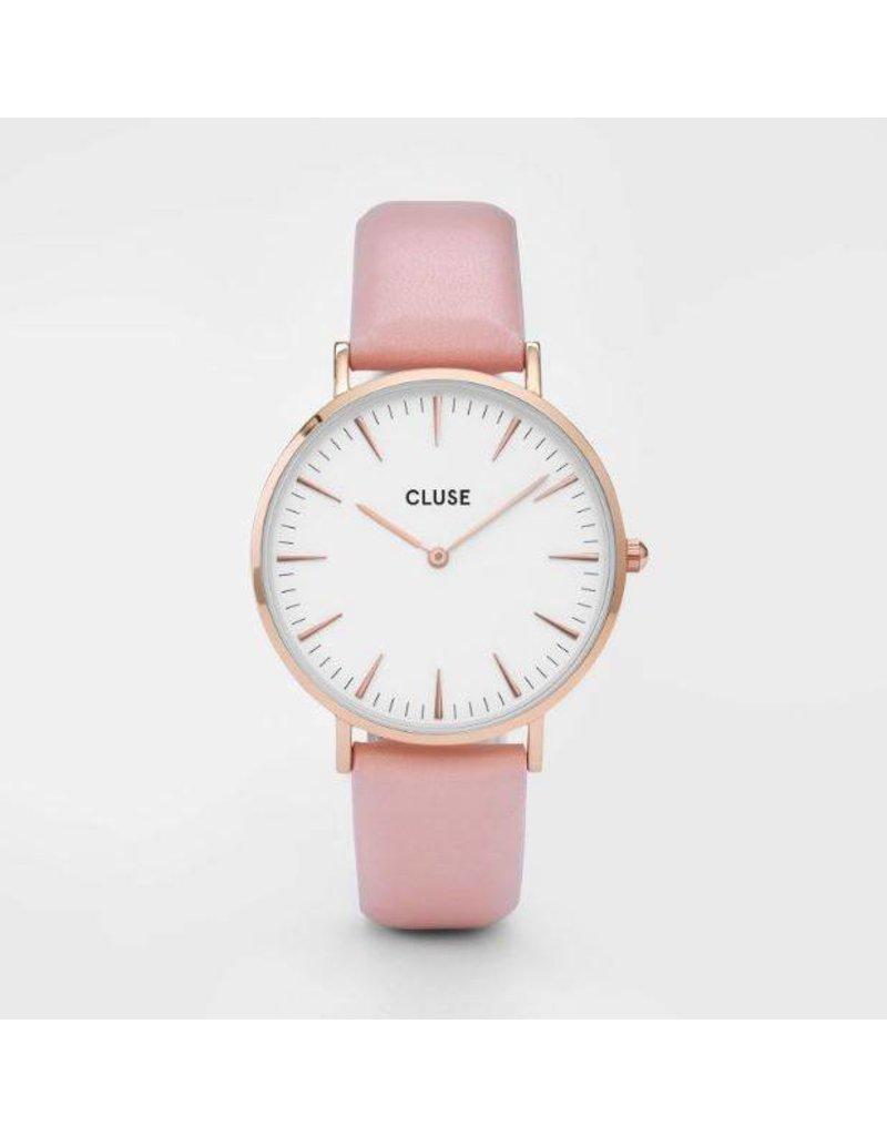 Cluse La Bohème Rose Gold White/Pink - CL18014