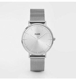 Cluse La Bohème Mesh Full Silver - CL18114