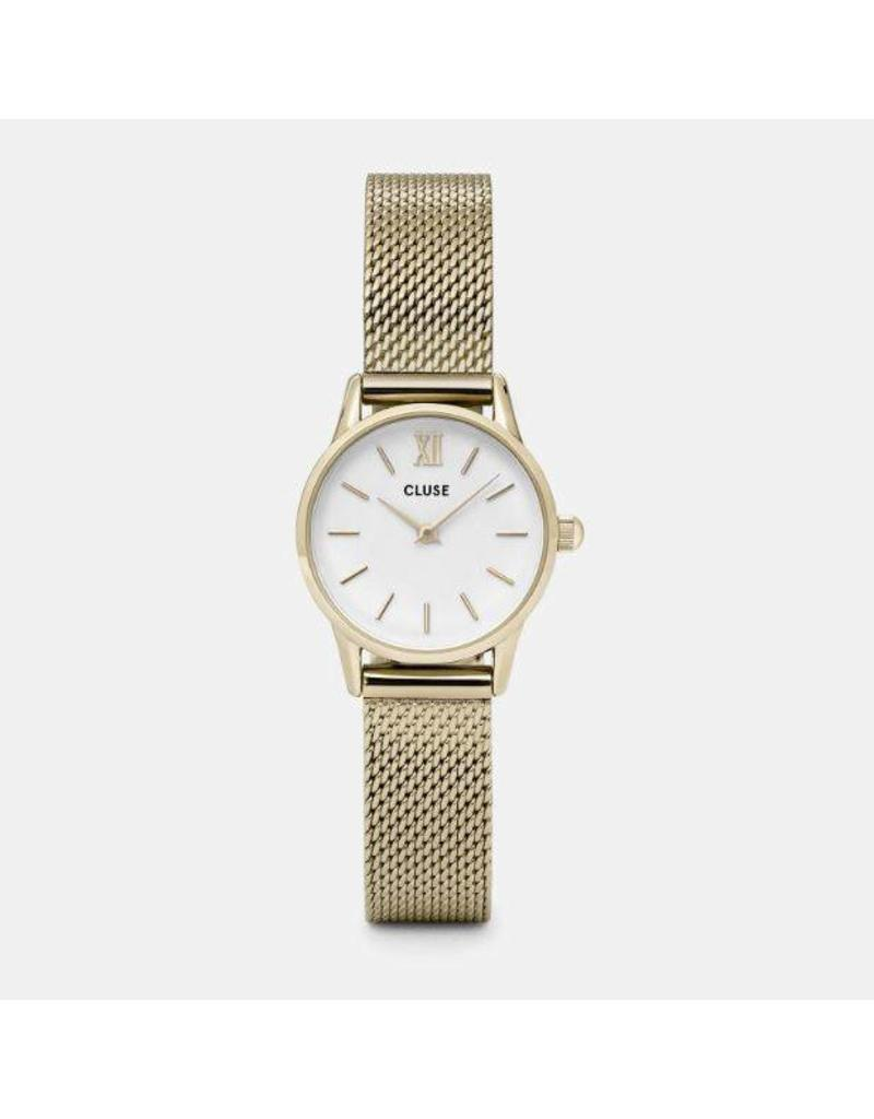 Cluse La Vedette Mesh Gold/White - CL50007