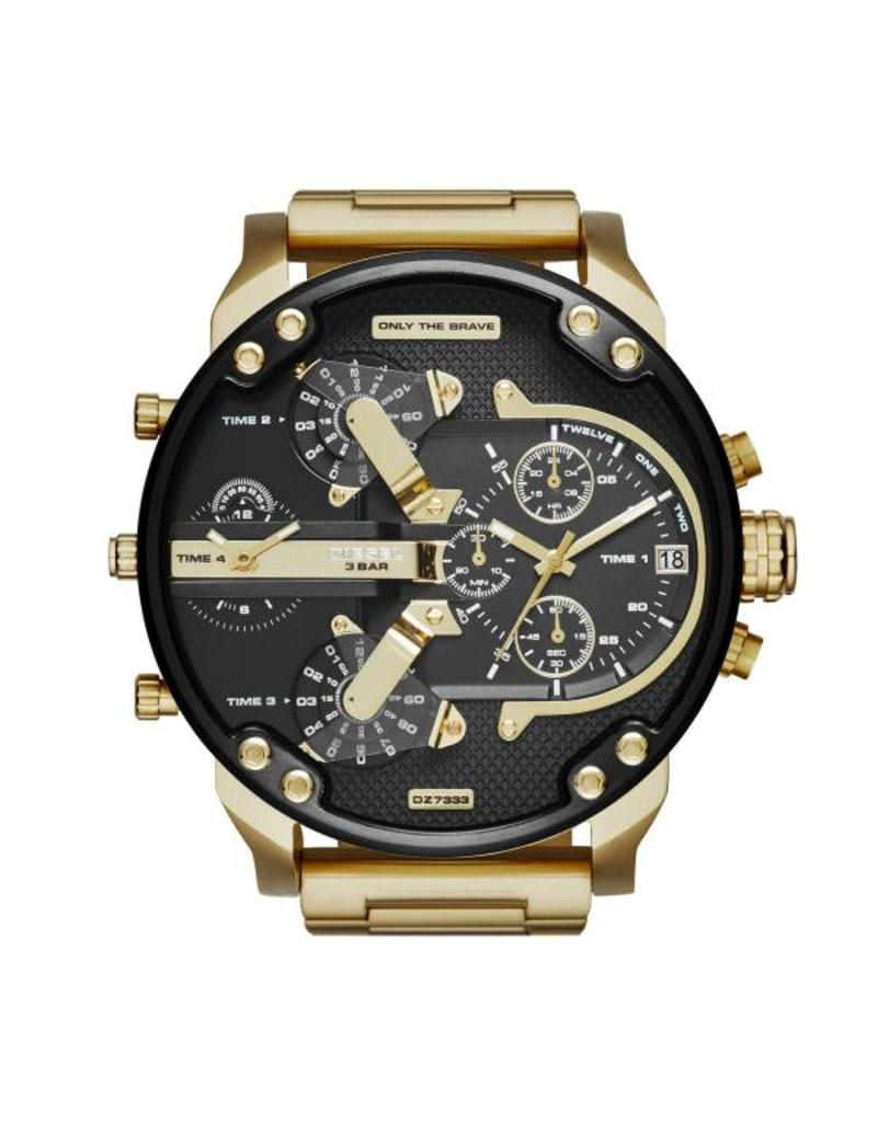 Diesel horloges LG RD BLK GOL BR - DZ7333
