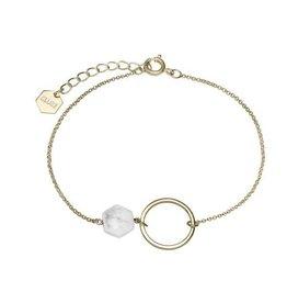 Cluse Idylle Gold open Circle Bracelet - CLJ11008