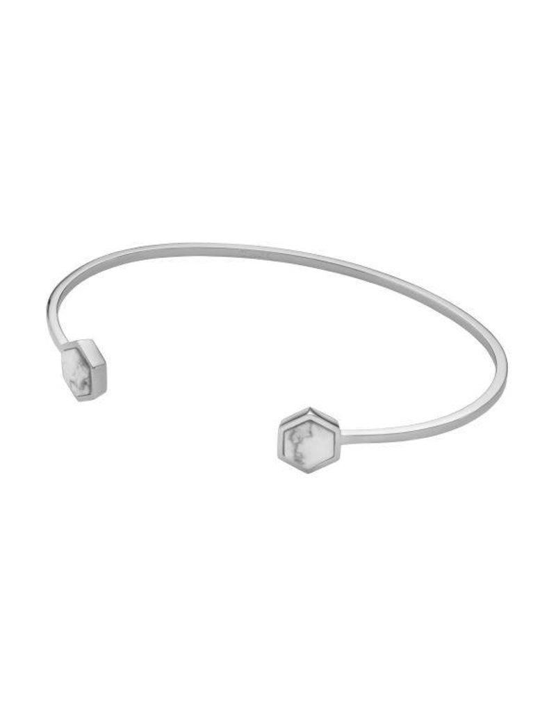 Cluse Idylle Silver Marble Bracelet - CLJ12003