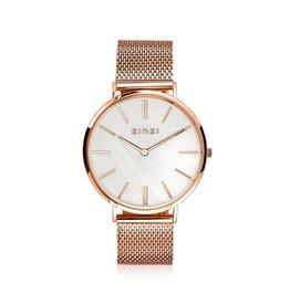 Zinzi horloges Retro Horloge Rosé MOP - ZIW418M