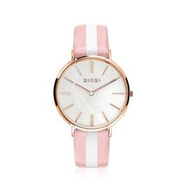 Zinzi horloges Retro Horloge Rosé MOP Wijzerplaat - ZIW418RS