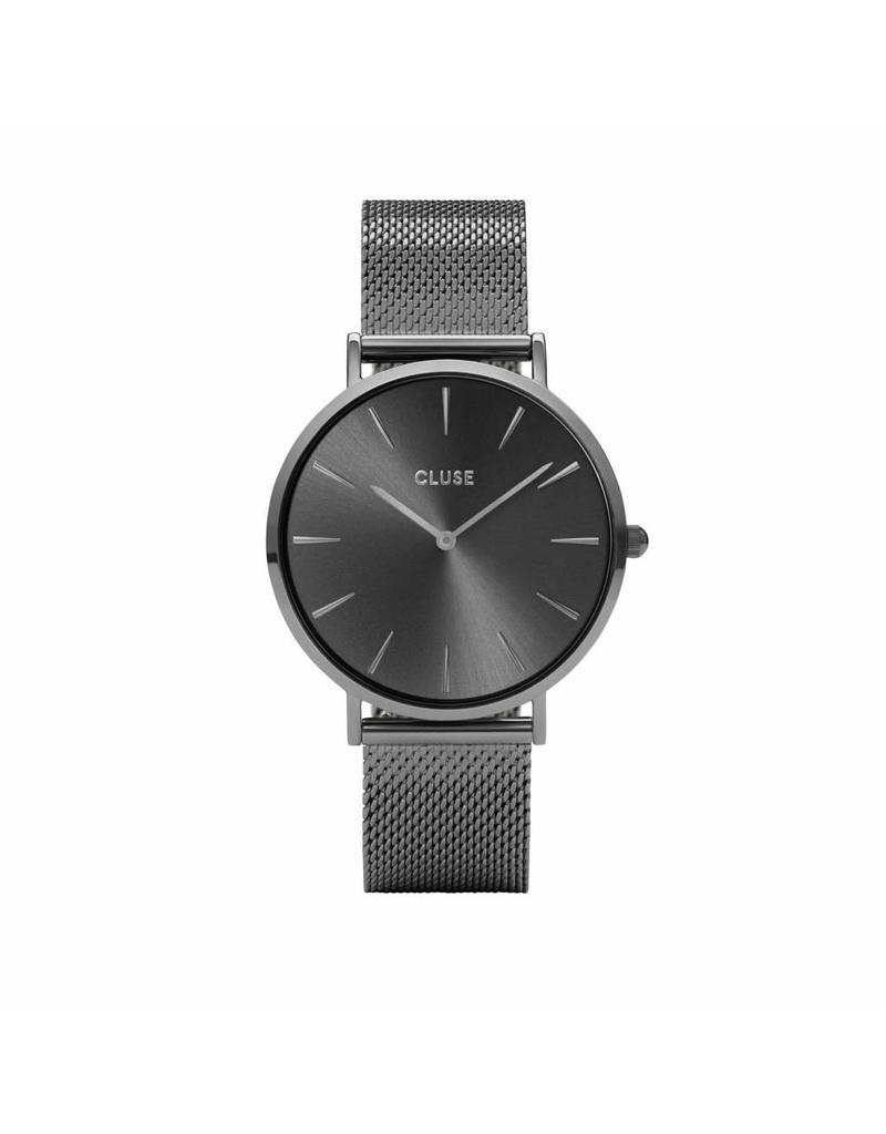 Cluse La Boheme Mesh Dark Grey - CL18121