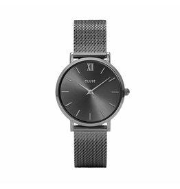 Cluse Minuit Mesh Dark Grey - CL30067