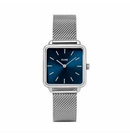Cluse La Garconne Mesh Silver/Blue - CL60011