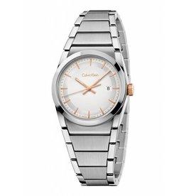 Calvin Klein horloges Step B-let Sil Diall - K6K33B46