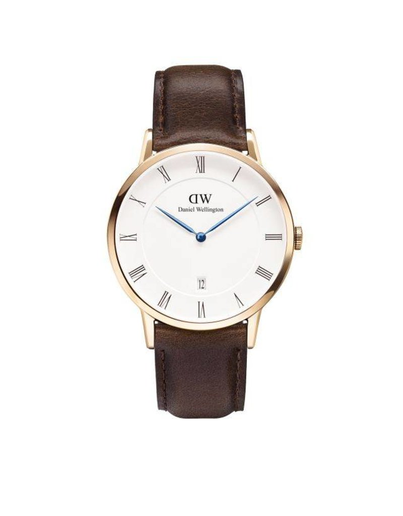 Daniel Wellington Daniel Wellington Watch Dapper Bristol 38mm  Rose gold DW00100086 - DW00100086