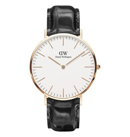 Daniel Wellington Daniel Wellington Watch Reading 40mm Rose gold DW00100014 - DW00100014