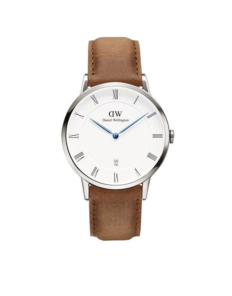 Daniel Wellington Daniel Wellington Watch Dapper Durham 38mm  Silver DW00100116 - DW00100116