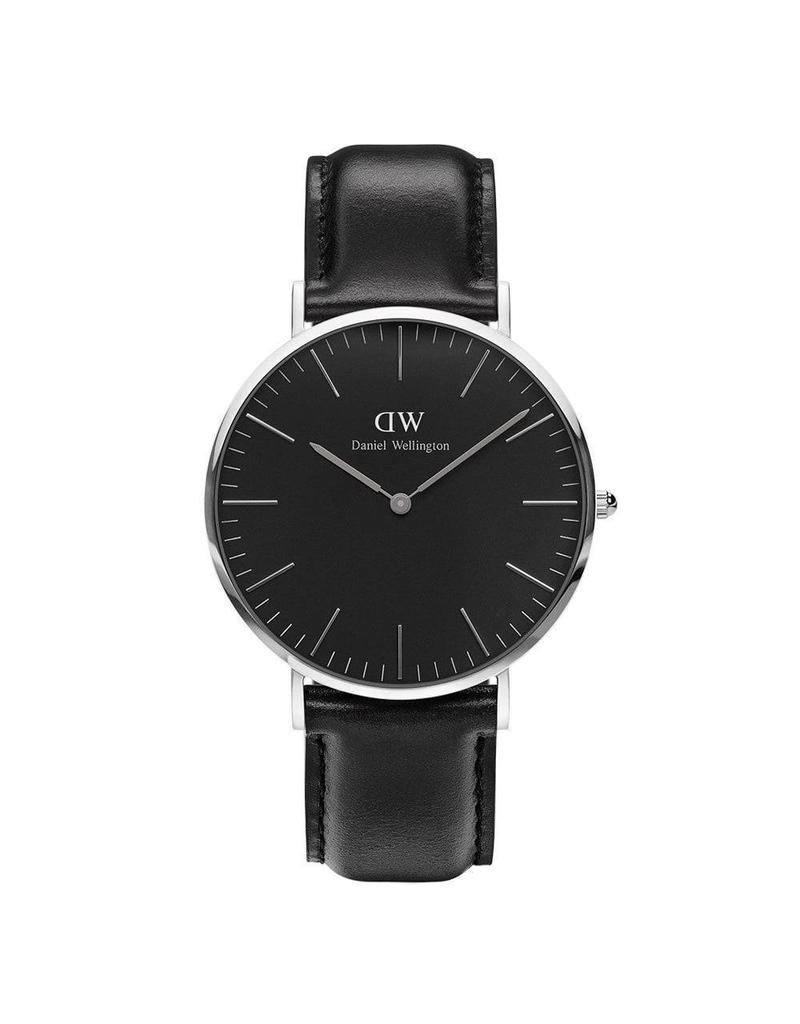Daniel Wellington Daniel WellingtonWatch Black Sheffield 40mm Silver DW00100133 - DW00100133