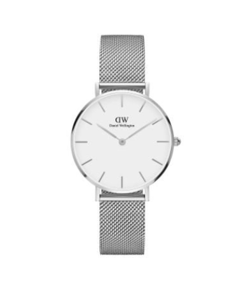 Daniel Wellington Daniel Wellington Watch Petite Sterling White 32mm Silver DW00100164 - DW00100164