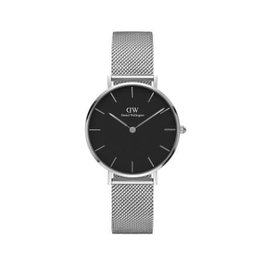 Daniel Wellington Daniel Wellington Watch Petite Sterling Black 32mm Silver DW00100162 - DW00100162