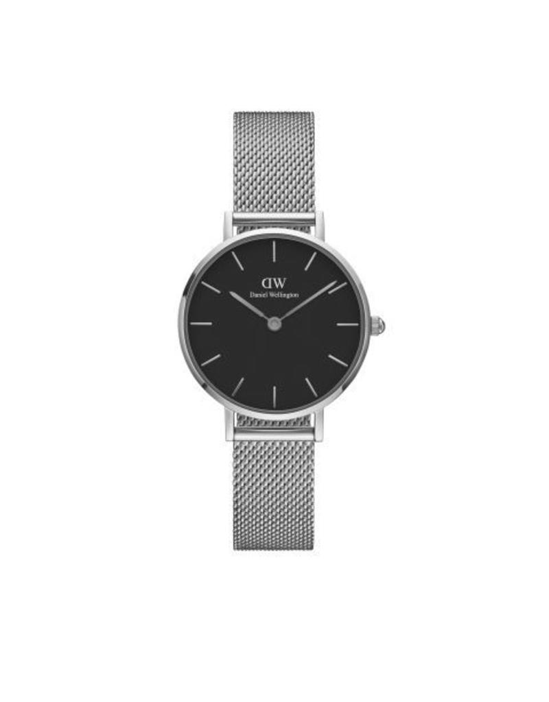 Daniel Wellington Daniel Wellington Watch Petite Sterling Black 28mm Silver DW00100218 - DW00100218