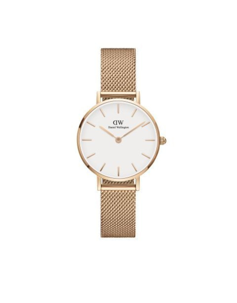 Daniel Wellington Daniel Wellington Watch Petite Melrose White 28mm Rose Gold DW00100219 - DW00100219