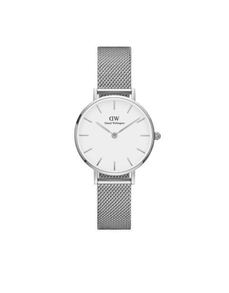 Daniel Wellington Daniel Wellington Watch Petite Sterling White 28mm Silver DW00100220 - DW00100220