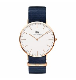 Daniel Wellington Daniel Wellington Watch Bayswater 40mm Rose gold DW00100275 - DW00100275
