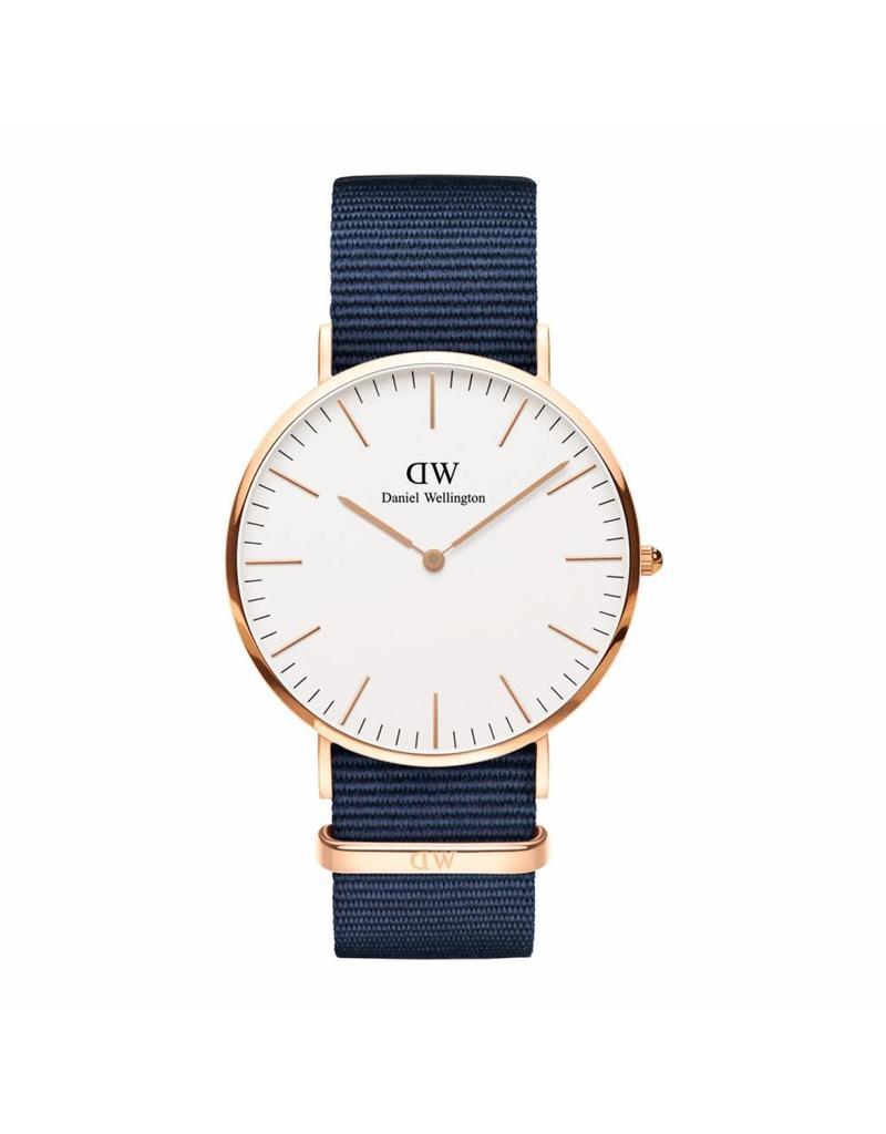 Daniel Wellington Classic 40mm Bayswater RG White - DW00100275