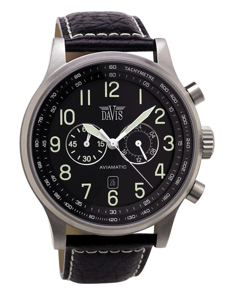 Davis Aviamatic Black Black - 0450