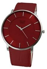 Davis Big Timer Watch Sts/Red/Red - 0912